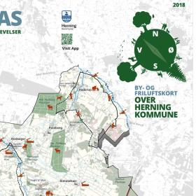 City- and outdoor map Herning