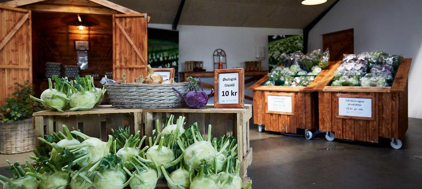 Farm shop at Axel Maansson A/S
